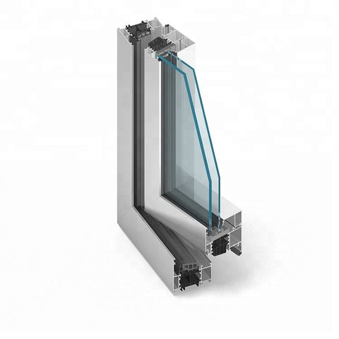6063 6005 New European Style Casement Window Prefabricated Aluminum Windows And Doors on China WDMA