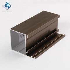6063 Aluminium Alloy Extruded Window Door Frame Profile on China WDMA
