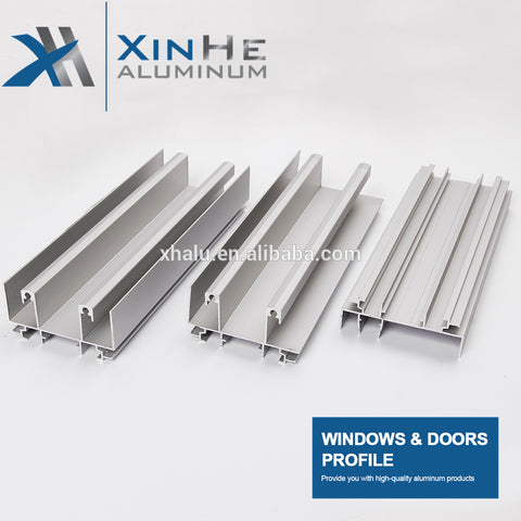 6063 aluminum sliding window and door profiles aluminium sliding window channel track for Gabon Cameroon market on China WDMA