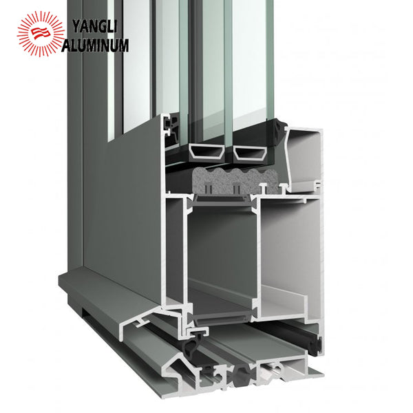 6063 extrusion industrial aluminum profile robust flush doors aluminum profile windows and door on China WDMA