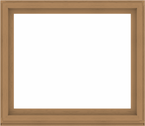 WDMA 60x52 (59.5 x 51.5 inch) Composite Wood Aluminum-Clad Picture Window without Grids-1