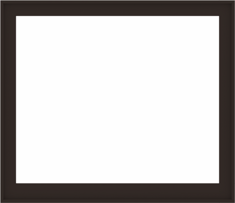 WDMA 60x52 (59.5 x 51.5 inch) Composite Wood Aluminum-Clad Picture Window without Grids-6
