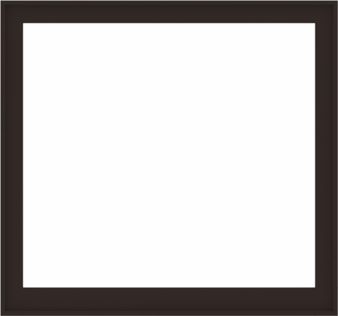 WDMA 60x56 (59.5 x 55.5 inch) Composite Wood Aluminum-Clad Picture Window without Grids-6