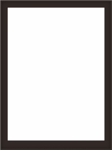 WDMA 60x80 (59.5 x 79.5 inch) Composite Wood Aluminum-Clad Picture Window without Grids-6