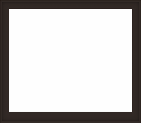 WDMA 64x56 (63.5 x 55.5 inch) Composite Wood Aluminum-Clad Picture Window without Grids-6