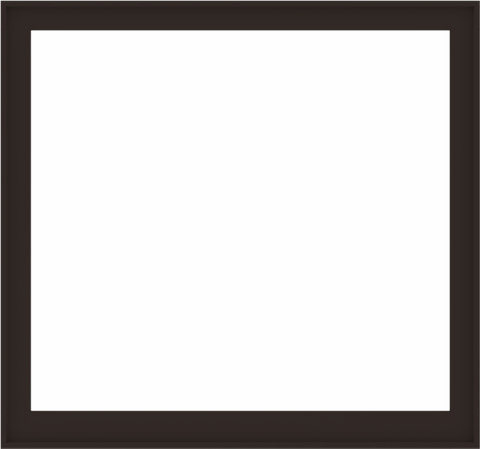WDMA 64x60 (63.5 x 59.5 inch) Composite Wood Aluminum-Clad Picture Window without Grids-6