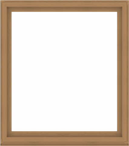 WDMA 64x72 (63.5 x 71.5 inch) Composite Wood Aluminum-Clad Picture Window without Grids-1