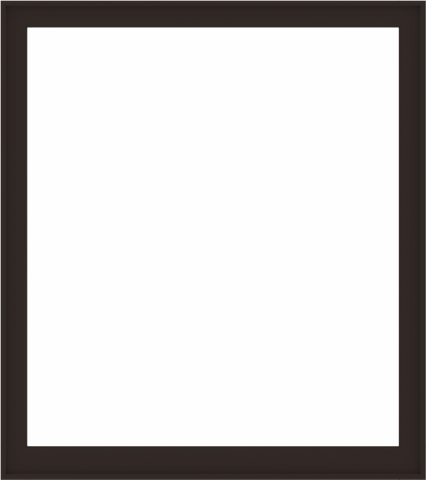 WDMA 64x72 (63.5 x 71.5 inch) Composite Wood Aluminum-Clad Picture Window without Grids-6