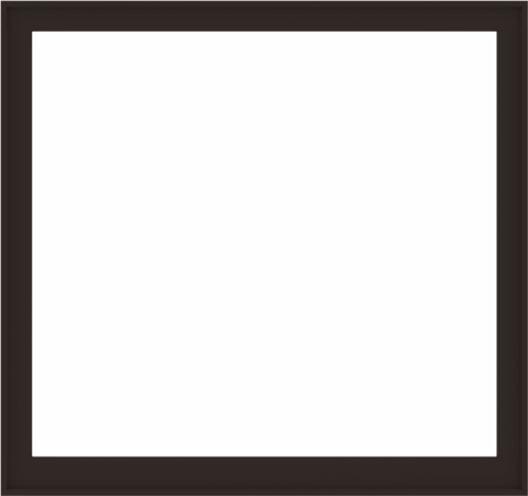 WDMA 68x64 (67.5 x 63.5 inch) Composite Wood Aluminum-Clad Picture Window without Grids-6