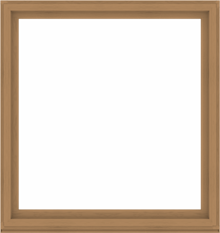 WDMA 68x72 (67.5 x 71.5 inch) Composite Wood Aluminum-Clad Picture Window without Grids-1