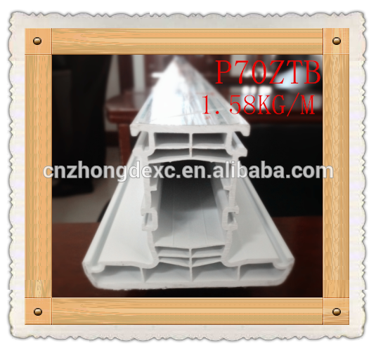70mm 6chamber cheap price casement popular style pvc profile window