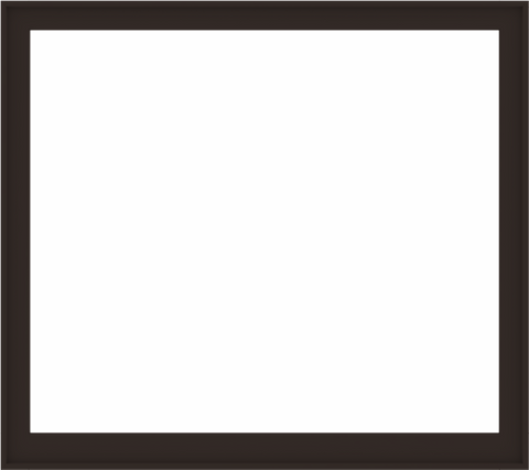 WDMA 72x64 (71.5 x 63.5 inch) Composite Wood Aluminum-Clad Picture Window without Grids-6