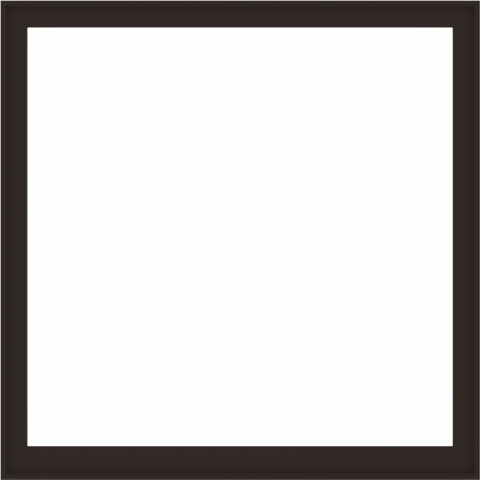 WDMA 72x72 (71.5 x 71.5 inch) Composite Wood Aluminum-Clad Picture Window without Grids-6