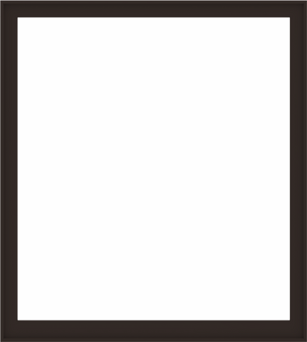 WDMA 72x80 (71.5 x 79.5 inch) Composite Wood Aluminum-Clad Picture Window without Grids-6