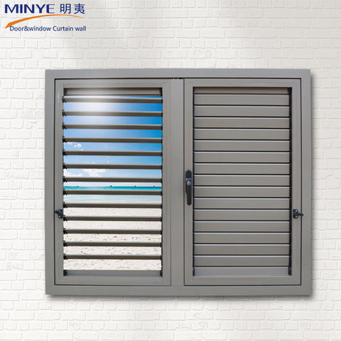 ALUMINUM SHUTTER WINDOWS / WHITE ALUMINUM SHUTTERS / ALUMINUM JALOUSIE WINDOWS on China WDMA