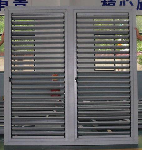 AS2047 Australian Standard aluminum doors sound proof french garage roller shutters used on China WDMA