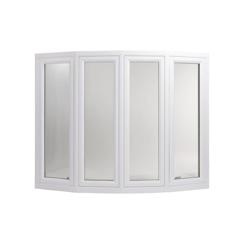 AS2047 Casement Glaze Double Glaze European Aluminum Bay And Bow Window on China WDMA