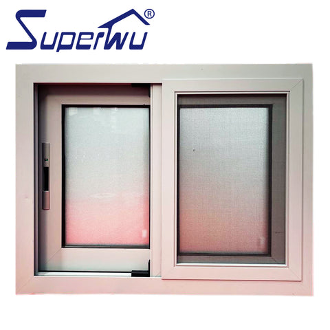 AS2047 NFRC CSA aluminium windows double glazing sliding window doors / sliding plastic window track on China WDMA