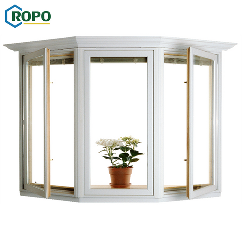 AS2047 Swing European Aluminum Double Glaze Bay Windows For Sale on China WDMA