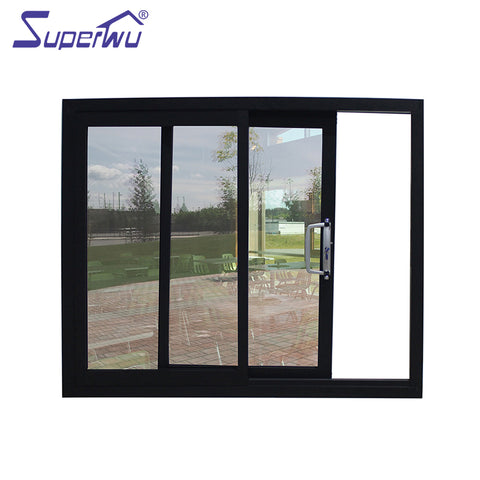 AS2047 and AS2208 double glazed arched sliding aluminum windows on China WDMA