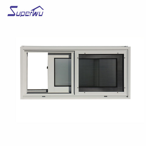 AS2047 commercial aluminum window manufacturers tinted glass sliding aluminium window doors for house on China WDMA