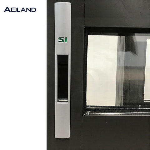 AS2047 standard Aluminium commercial sliding window factory anti-theft bar design on China WDMA