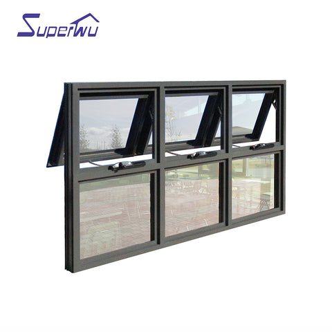 AS2047 standard aluminum chain winder awnings window with modern design on China WDMA