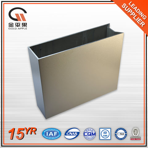 All kinds 6000 series aluminium office sliding glass window materials on China WDMA