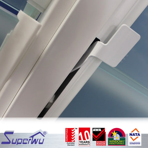 Aluminium AU & NZ standard heat protection bathroom jalousie windows on China WDMA