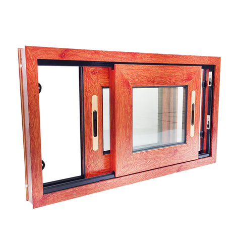 Aluminium Cheap Sliding Windows 3 Tracks Sliding Window Large Glass Windows on China WDMA