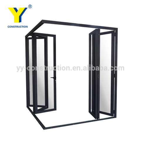 Aluminium Glass Door Design Living Room Bifold Glass Doors Balcony Sliding Doors on China WDMA