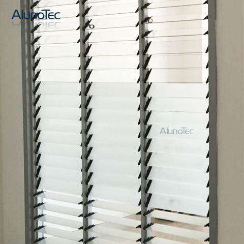 Aluminium Glass Jalousie Window Louvers on China WDMA