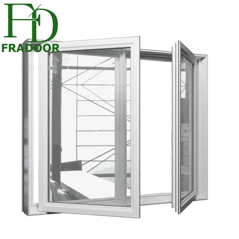 Aluminium Glass Shutter Professional Glass Louvre Window with Aluminum Profile Frame on China WDMA