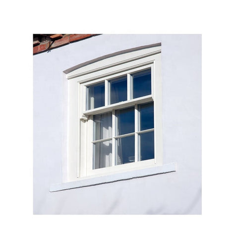 Aluminium/PVC Frame Double Hung Window on China WDMA