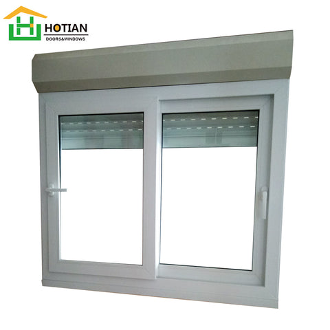 Aluminium Roller Shutter Windows with Handle and Automatic Australian Standard Aluminum Window on China WDMA