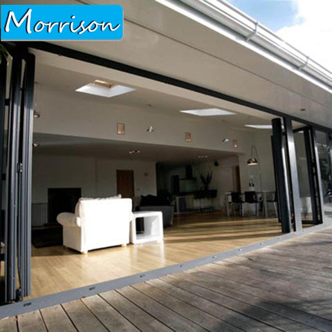 Aluminium Sliding Door And Bifold Aluminium Doors For Yard on China WDMA