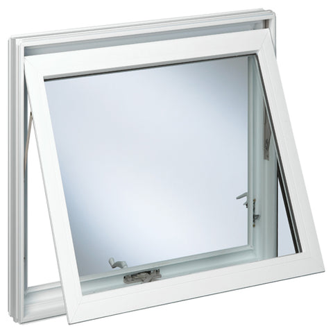 Aluminium Thermal Break Profile Cost-effective Awning Windows Double Glazed Made In China on China WDMA