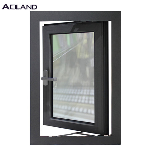Aluminium casement windows double glaze casement window on China WDMA