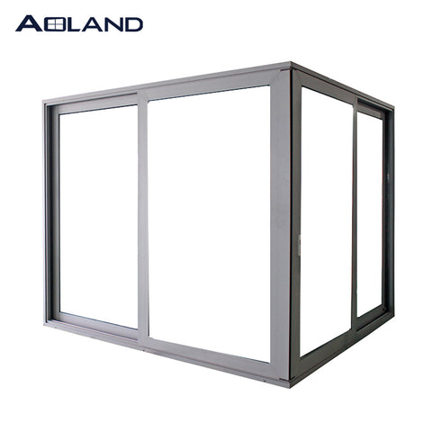 Aluminium commercial grade heavy duty lift and slider sliding door with clear glass on China WDMA