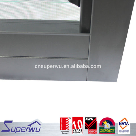 Aluminium glass blades louvers window/ jalousie window manufacturer good price on China WDMA