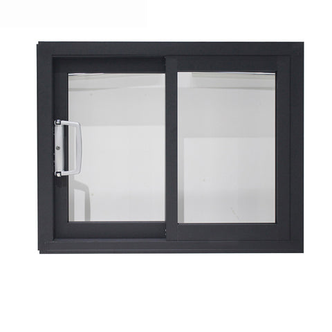 Aluminium glass commercial grade sliding window fabrication with subsill for easy installation on China WDMA