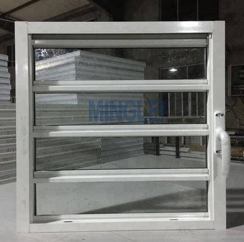 Aluminium glass louvers shutters jalousie window on China WDMA