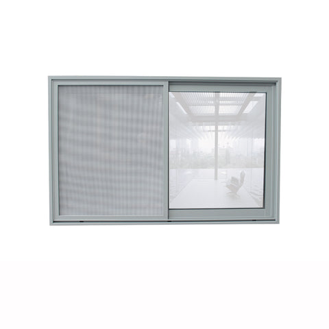 Aluminium sliding window frame / price of aluminium sliding window bathroom small window double glazed on China WDMA