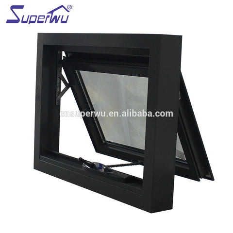 Aluminium thermal break Profile cost-effective Awning Windows AS2047 Australian standard Double Glazed Made In China on China WDMA