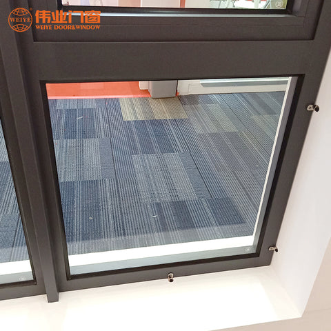 Aluminium windows and doors horizontal casement window on China WDMA