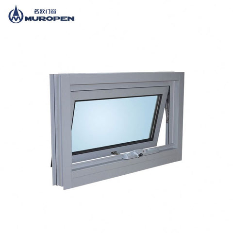 Aluminium windows with built-in blinds AS2047 australia standard awning window blind inside double glass window on China WDMA