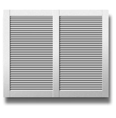 Aluminum Alloy Louver Plantation Shutter Window on China WDMA