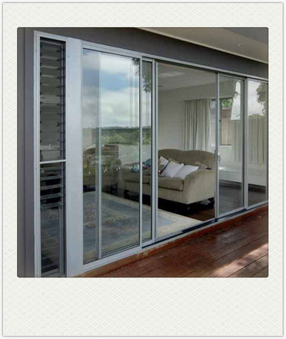 Aluminum/Aluminium Glass Window and Door with Casement/Awning/Bifolding/Sliding/ Fixed Opening Style on China WDMA