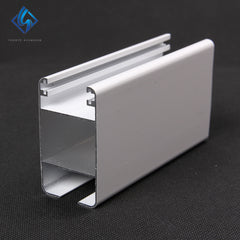 Aluminum Cameroon Aluminium Sliding Window Door Extruded Track Profile on China WDMA