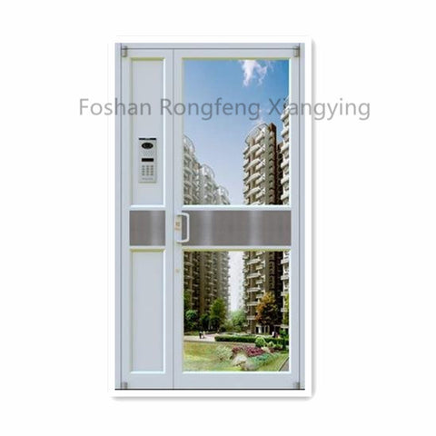 Aluminum Casement French Glass Door on China WDMA
